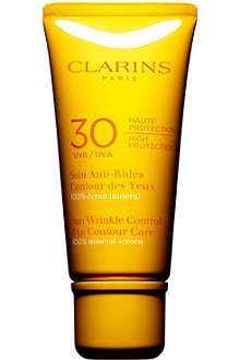CLARINS Sun wrinkle eye cream ultra protection SPF30