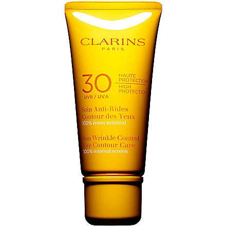 CLARINS Sun wrinkle eye cream ultra protection SPF 30 20ml