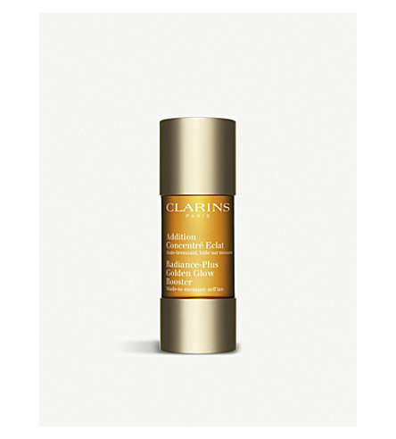 CLARINS Self Tanning Radiance-Plus Golden Glow Booster 15ml