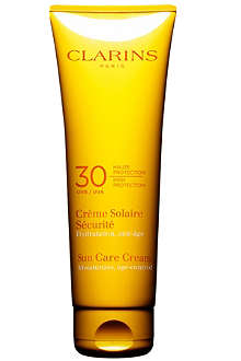 CLARINS Sun Care cream high protection UVB 30