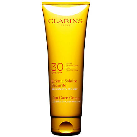 CLARINS Sun Care cream high protection UVB 30 125ml