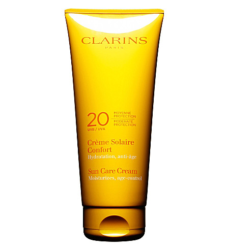 CLARINS Sun Care soothing cream SPF 20 200ml