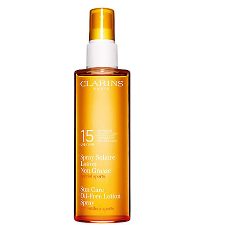 CLARINS Oil–free sun spray UVB 15 150ml
