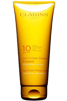 CLARINS Sun Care soothing cream low protection SPF 10