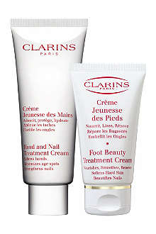 CLARINS Hand and feet treatment duo
