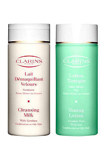 CLARINS Cleansing Duo – Combination⁄Oily Skin
