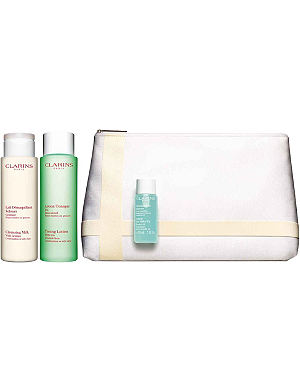 CLARINS Cleansing trousse combination to oily skin