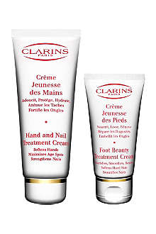 CLARINS Hands and Feet gift set