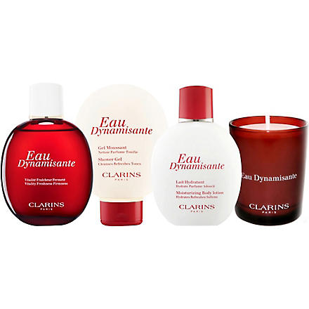 CLARINS Limited Edition Eau Dynamisante Collection