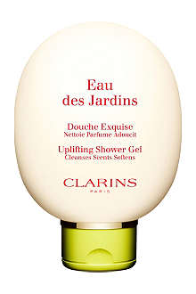CLARINS Eau des Jardins uplifting shower gel 150ml