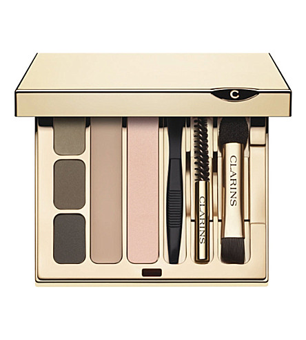 CLARINS Pro palette eyebrow kit (Eyes+and+brows