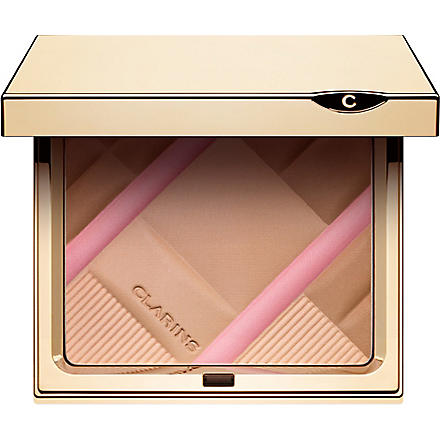 CLARINS Ombre Minérale Collection Colour Accents Face & Blush Powder- Collector Face Palette