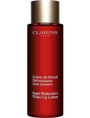 CLARINS Super Restorative wake-up lotion 125ml