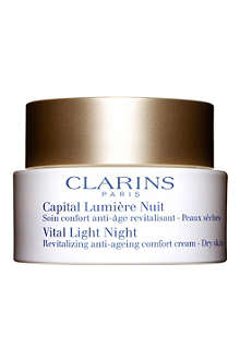 CLARINS Vital Light Revitalizing Night Cream
