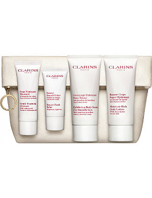 CLARINS Face & Body Care Essentials 'Skin Care Heroes'