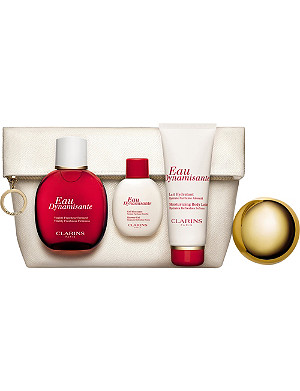 CLARINS Eau Dynamisante Collection 'Wake-Up Treats'
