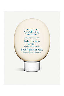 CLARINS Eau Ressourçante bath and shower milk
