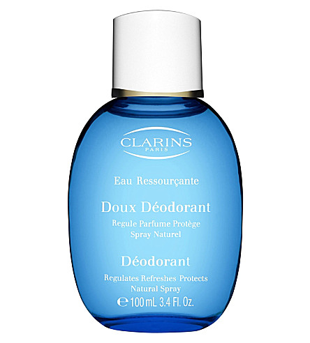 CLARINS Eau Ressourçante fragranced gentle deodorant 100ml