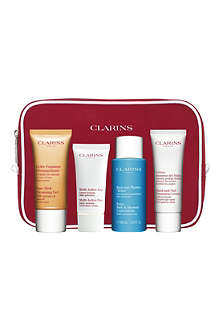 CLARINS Bespoke top-to-toe cleansing kit