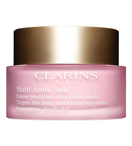 CLARINS 多活性日霜干燥皮肤50毫升