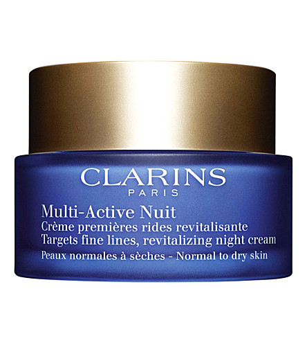 CLARINS 多活动夜青年恢复霜-干燥皮肤50ml