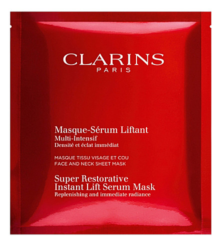 CLARINS Super restorative instant lift serum mask 30ml