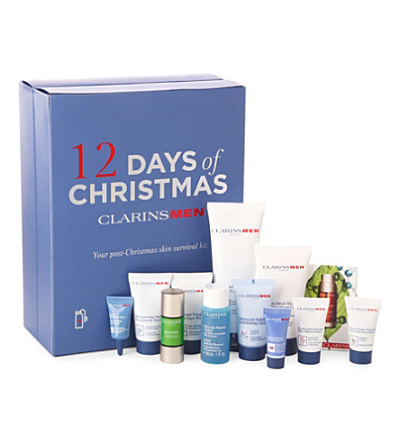 CLARINS ClarinsMen 12 Days of Christmas set