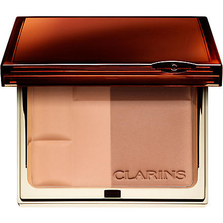 CLARINS Enchanted Collection Bronzing Duo SPF 15 mineral powder compact (01+light