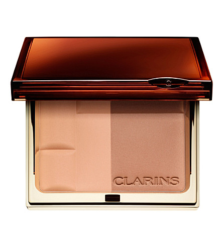 CLARINS Bronzing Duo Mineral Powder Compact (01+light