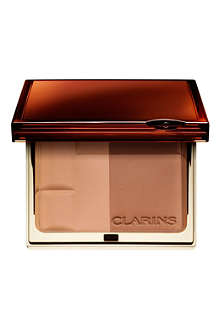 CLARINS Enchanted Collection Bronzing Duo SPF 15 mineral powder compact