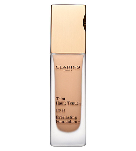 CLARINS Everlasting Foundation + SPF15 (Amber