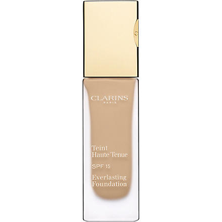 CLARINS Everlasting Foundation SPF 15 (Amber