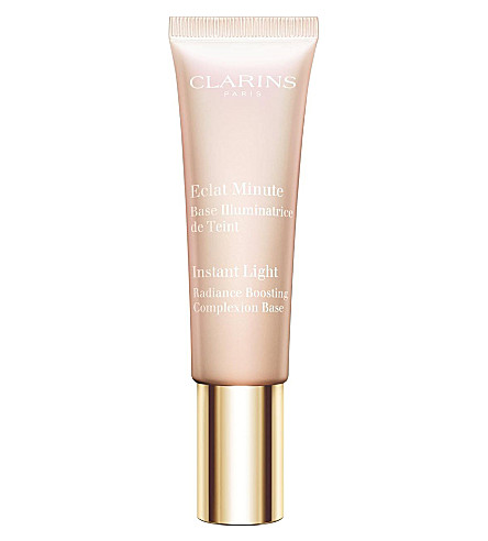 CLARINS Instant Light Radiance Boosting Complexion Base 30ml (01+rose