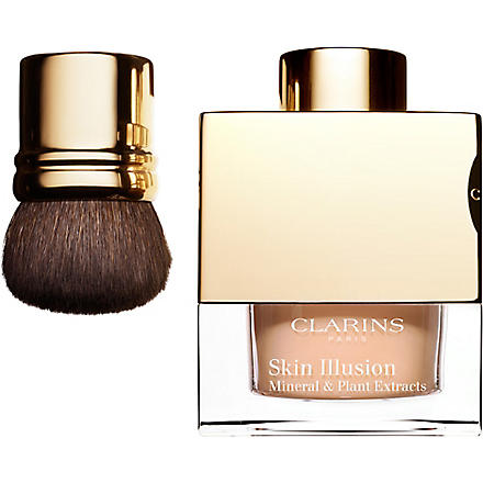 CLARINS Skin Illusion loose powder foundation (Amber