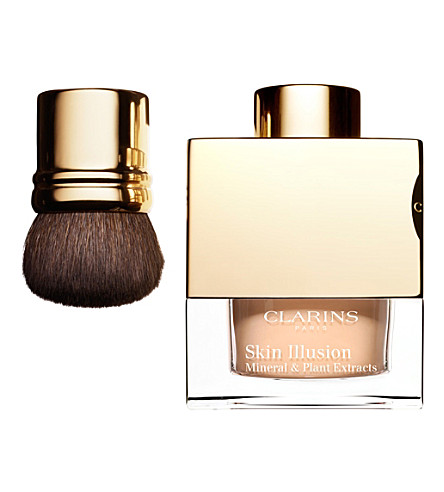 CLARINS Skin Illusion loose powder foundation (Honey