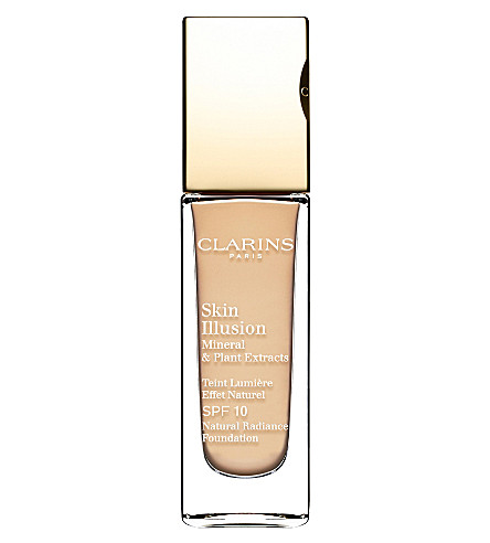 CLARINS Skin Illusion natural radiance foundation SPF 10 (Ivory 103