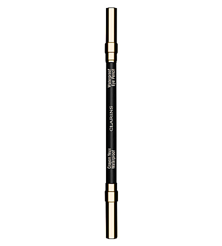CLARINS Waterproof eye pencil (01+black