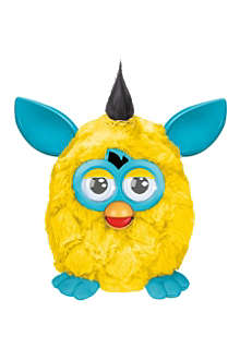 FURBY Yellow and teal Furby