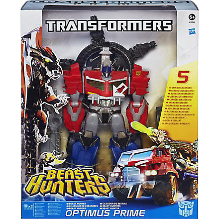 TRANSFORMERS Prime Beast Hunters Ultimate Class Beast Hunter Optimus Prime Figure