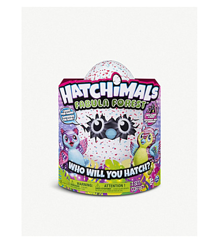 HATCHIMALS Fabula Forest – hatching egg with interactive tigrette