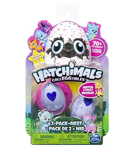 HATCHIMALS Hatchimals colleggtibles 2 pack and nest
