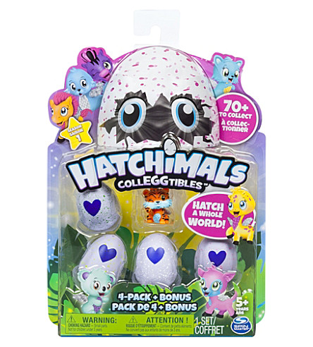 HATCHIMALS Hatchimals colleggtibles pack of four