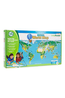 LEAP FROG LeapReader world map