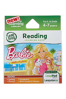 LEAP FROG Barbie Reading Learning Game