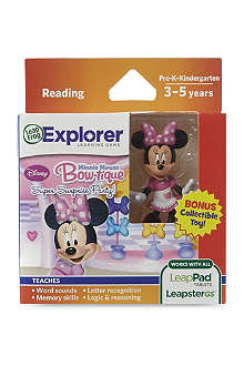 LEAP FROG Minnie Mouse Bow-tique Leappad Tablets game