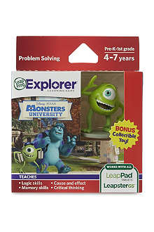 LEAP FROG Monsters University Leapad Tablets game