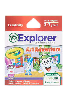 LEAP FROG Learning Crayola game