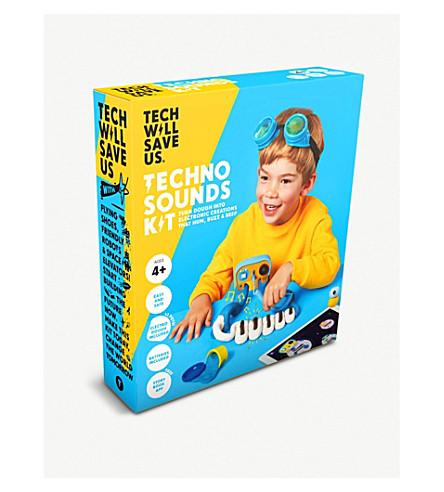 TECHNOLOGY WILL SAVE US Techno Sounds Kit
