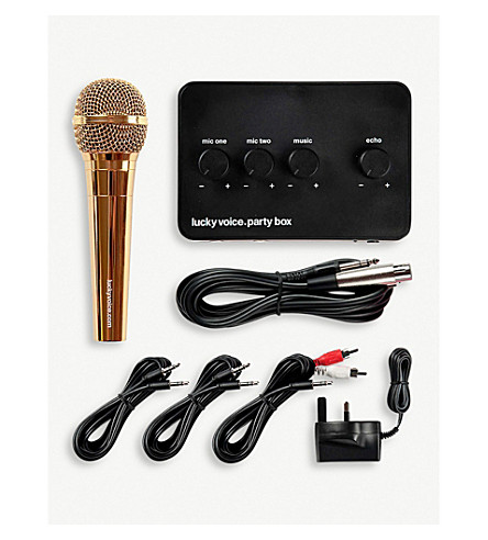 LUCKY VOICE Karaoke kit