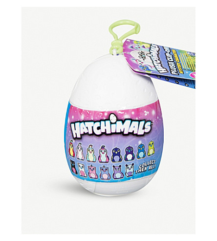 HATCHIMALS Plush clip-on egg